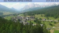 Cortina d'Ampezzo: View from ski jump area