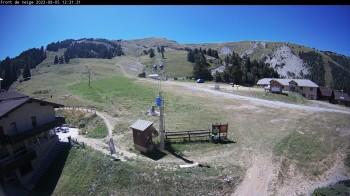 Ski lift in Chabanon
