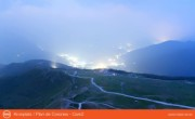 Ski resort Kronplatz - restaurant Cima, bell Concordia and mountain hut Corones