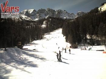 Ski Run Les Claux