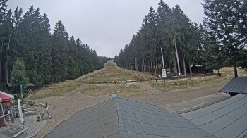 Ski slope at Erbeskopf mountain