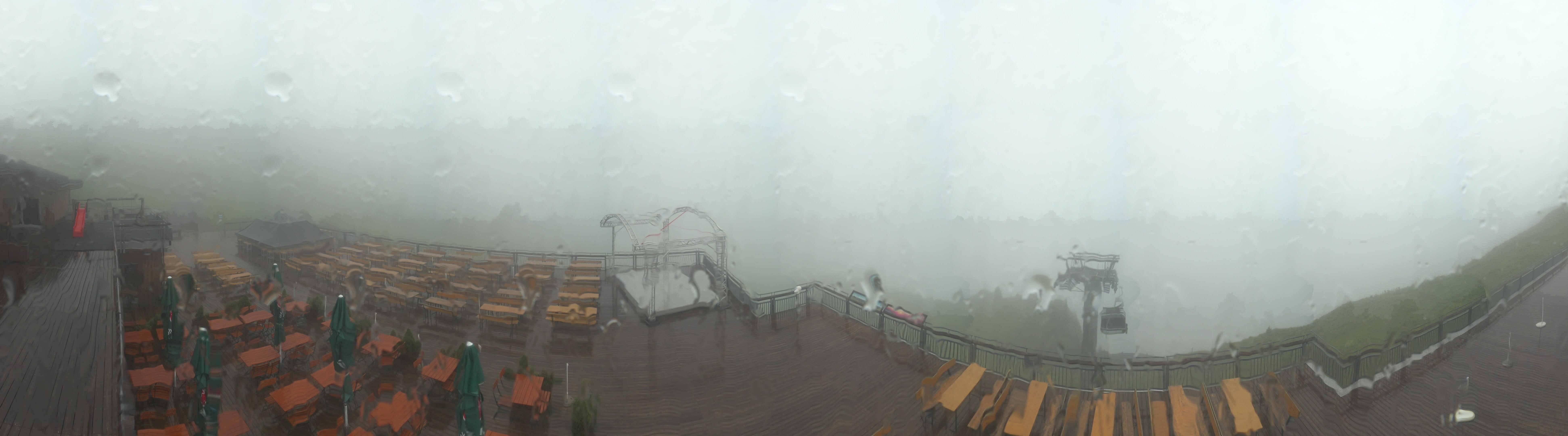 Diedamskopf: Panorama Bergstation Seilbahn