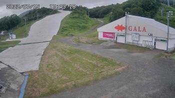 Skigebiet Gala Yuzawa - Blick auf die Piste