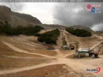Skigebiet Monte Magnola - Ovindoli - Mittelstation