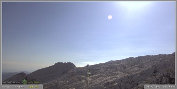 Skigebiet Sella Nevea - Bovec Kanin - Blick nach Südwesten