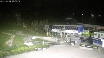 Blick auf die Pisten am Winter Hill / Calgary