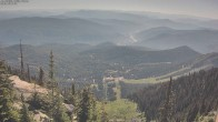 Skilift und Piste