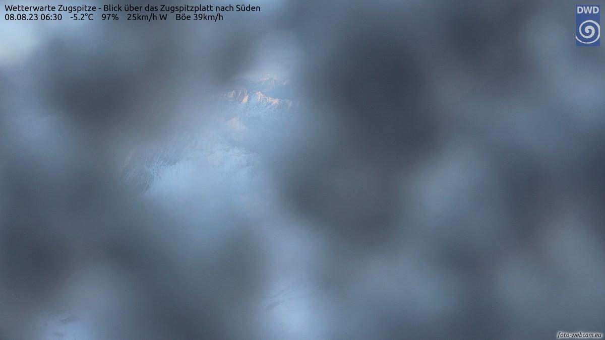 Schneehöhe Zugspitze Aktuell