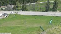 Skischulbereich und Kinderland