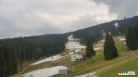 Skischulgelände in Klinovec