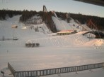 Slope and ski jump