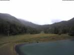 Speichersee Schneeberg und Sesselbahn Schneeberg