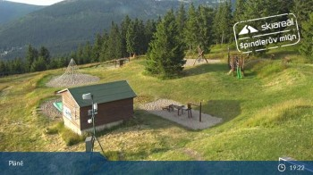 Spindleruv Mlyn: Top Station Chair Lift Svaty Petr