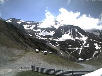 Summit of Chamois mountain (2064 m)