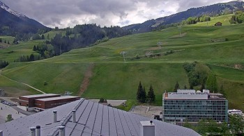 Ausblick vom Ferienresort Surses Alpin in Savognin