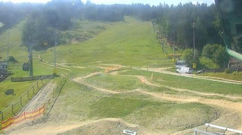 Semmering Hirschenkogel: Talstation 4er-Sesselbahn
