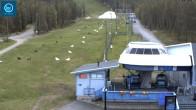 Levi: Talstation der Gondoli2000 Kabinenbahn
