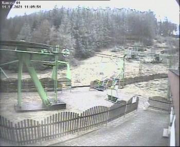 Talstation der Sackpfeife im Skigebiet Biedenkopf