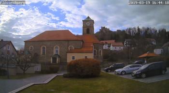 The village of Flossenbürg