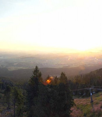 Top station at Hohenbogen mountain