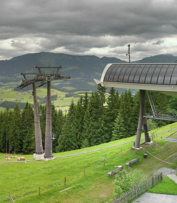 Top station Karkogelbahn