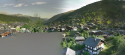 Panoramic view of Morzine