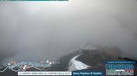 Trincerone: Blick auf den Gletscher am Stilfser Joch