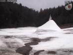 Übungshang im Skigebiet Breidenbach - Kleingladenbach