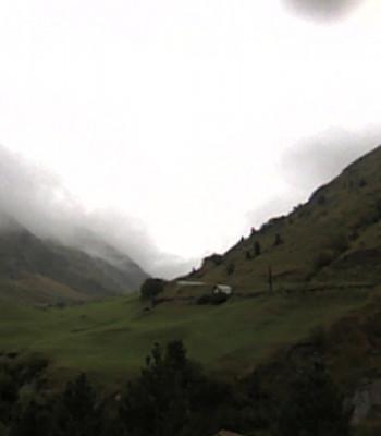 Vent - view towards Ochsenkopf, Rofental valley and Guslarspitzen