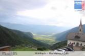 View from Rio Molino towards Gais (Tauferer Ahrntal, South Tyrol)