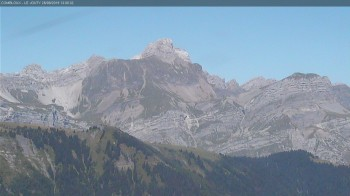 View of Mont Blanc mountain