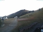 View of the ski run Piazzale