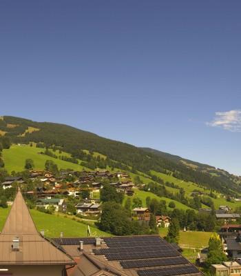 View over Saalbach - Alpinresort