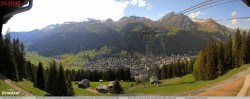 View to the Schatzalp Ski Resort