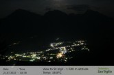 View towards San Vigilio in South Tyrol at 1.500 m