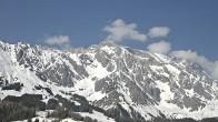 Village Dienten: View to Hochkönig mountain
