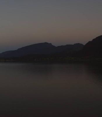 Walchsee im Kaiserwinkl in Tirol