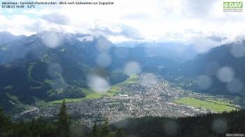 Wankhaus - View to Zugspitze