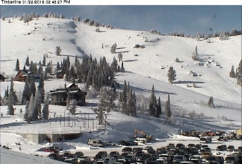 Webcam at chair lift Timberline
