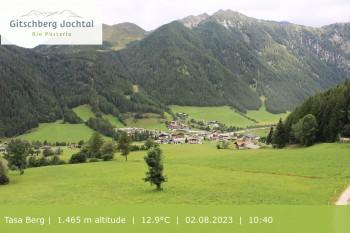 Gitschberg Jochtal: Blick auf die Mittelstation Schilling