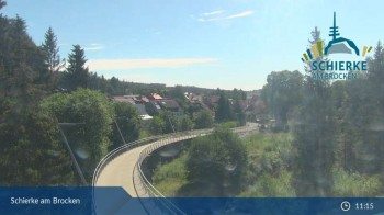 Webcam in Schierke am Brocken