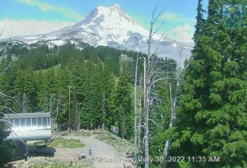 Webcam of Heather Top Station at Mt. Hood Meadows