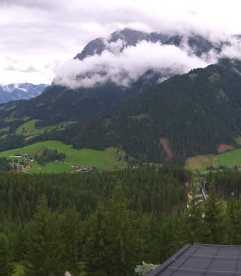 Werfenweng: View panoramic restaurant
