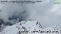 Wetterstein towards Zugspitze