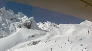 Whakapapa: Blick auf den Pinnacles Grat