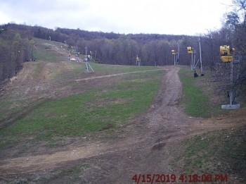 Whitetail Blick auf den Snowpark