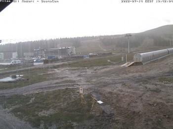Skigebiet Ylläs in Finnland, Talstation