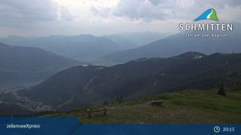 Schmitten: Bergstation des zellamseeXpress