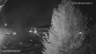 Zentrum Les Gets - Blick zur Mont Chery Piste