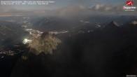 Zugspitze - Blick über das Höllental nach Osten